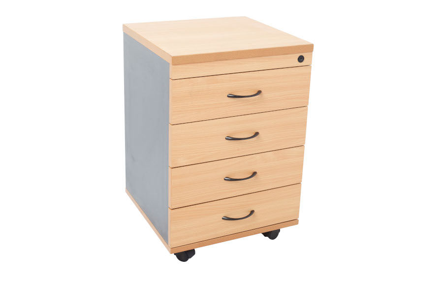 Rapid Mobile Pedestal 4 Drawer