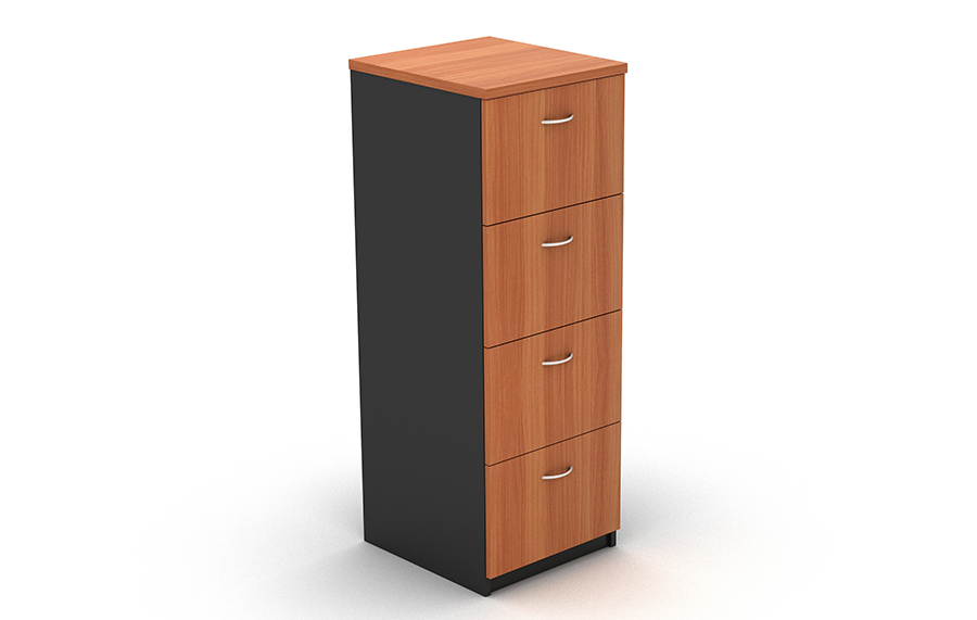 Grand 4 Drawer Filing Cabinet