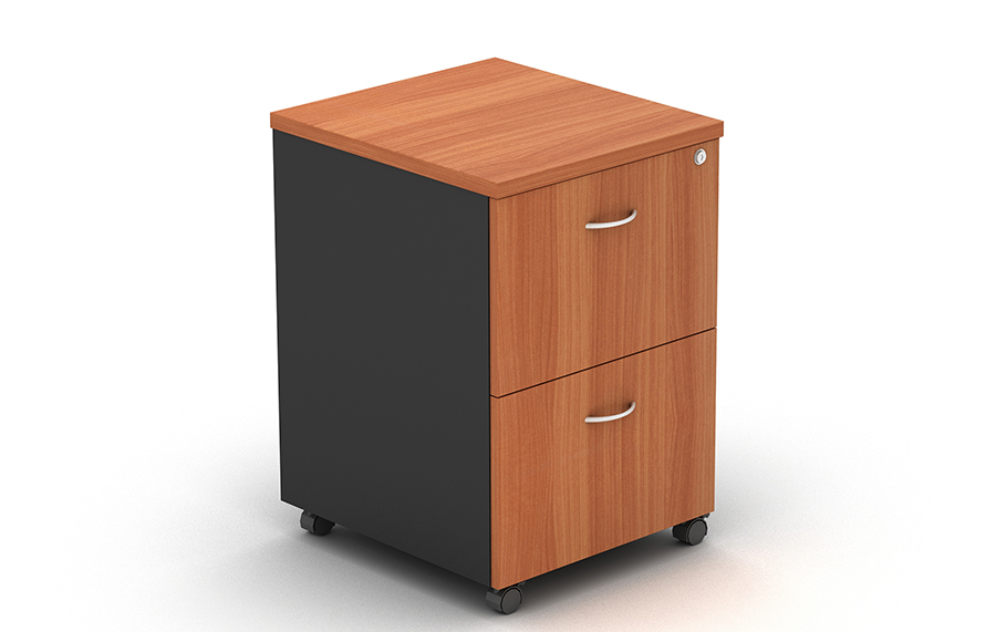 Grand Mobile Pedestal 2 File Drawers