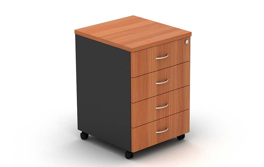 Grand Mobile Pedestal 4 Drawers