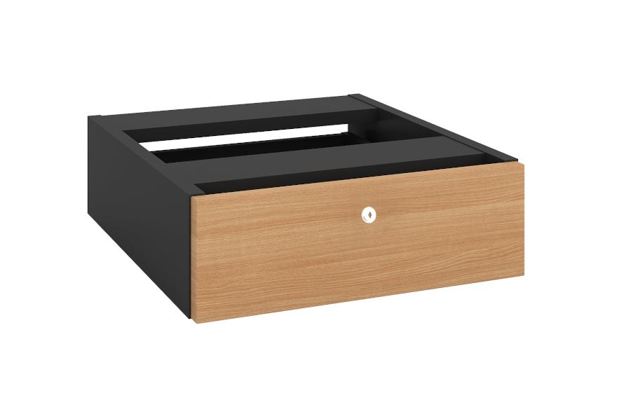 Grand 1 Drawer Fixed Pedestal