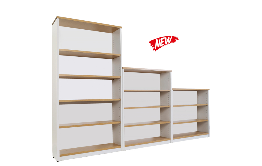 Hunter Oak Book Case 1200