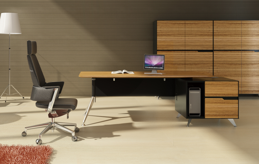 Novara Executive Desk 21 With Return