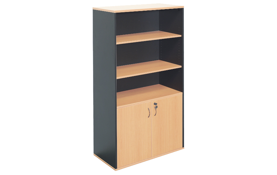 Rapid Half Door Stationery Cupboard