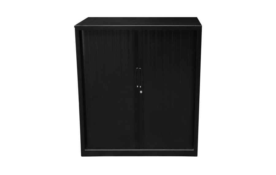 Go Tambour Cupboard 109 Black
