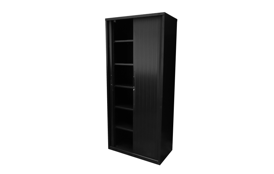 Go Tambour Cupboard 199 Black