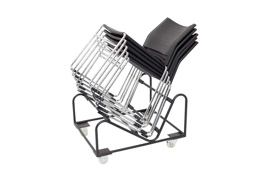 Z Chair Stacking Trolley